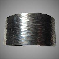 Napier Old Sterling Silver Cuff Bracelet
