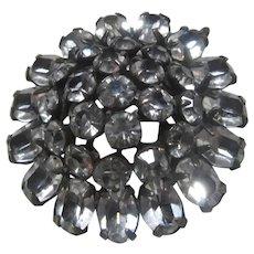 Very Sparkly Rhinestone Pin Brooch
