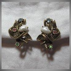 Old Coro Earrings