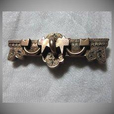 Victorian Gold Filled Bar Pin