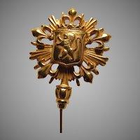 Ben Amun Huge Stickpin Pin