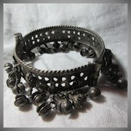 Middle Eastern Belly Dance Old Bracelet With Jingling Dangles