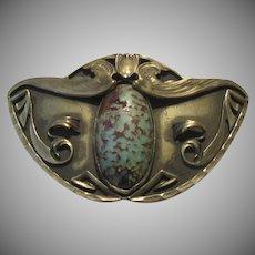 Art Deco Or Arts & Crafts Brooch George Steele Wings
