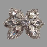 Small Sparkly Rhinestone Pin Brooch