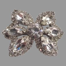 Small Sparkly Rhinestone Pin Brooch