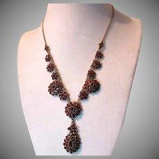 Rich Garnet Necklace