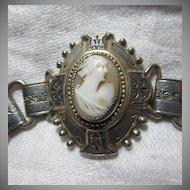 Old Shell Cameo Bracelet