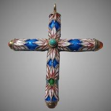 Fine Enamel Cross