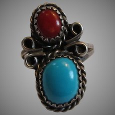 Older Native American Ring Size 5 1/2