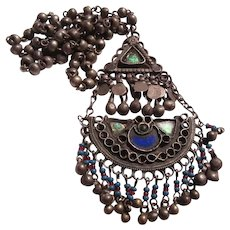 Middle Eastern Ethnic Long Necklace