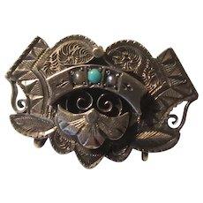 14K Gold Victorian Pin