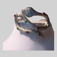 Jeweled Snake Bracelet