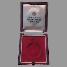 Queen Elizabeth Coronation Small Jewelry Medal Presentation Box