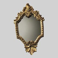 Small Florentine Italian Mirror