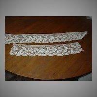 Ecru Old Lace Dress Pieces