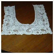 Fabulous Needle Lace Large Collar