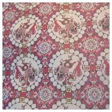Japanese Brocade Table Runner Scarf Fabric