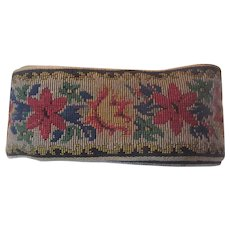 Floral Tapestry Style Wide Braid 4 Yards