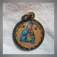 Virgin Mary Our Lady Perpetual Help Medal