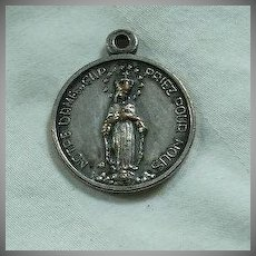 Virgin Mary Notre Dame Du Cap French Medal