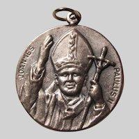 Pope John Paul II Italian Medal