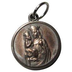 Saint Anne Reliquary Slider Medal