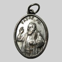 St Blessed Padre Pio Medal