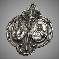 Fine Cathholic Crucifix 3 Way Medal
