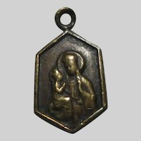 Tiny St Anne De Beaupre Medal