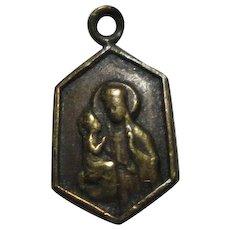 Tiny St Anne De Beaupre Medal