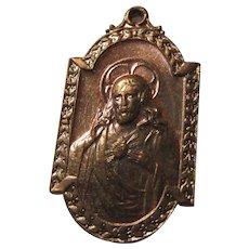 Scapular Medal Jesus Sacred Heart Virgin Mary Our Lady Mt Carmel