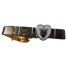 Sacred Heart Medal Tie Bar Holder
