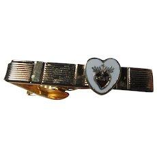 Sacred Heart of Jesus Tie Bar or Holder Medal