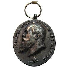 Luitpold Prince Regent of Bavaria 1905 Medal