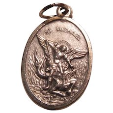 St Micheal Guardian Angel Medal
