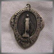 Old Unusual Miraculous Medal