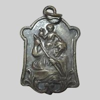 Very Old St Christopher Medal