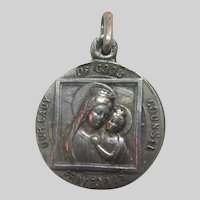 Virgin Mary Our Lady of Good Cousel and St Augustin Medal
