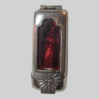Old Virgin Mary Our Lady Pocket Icon European