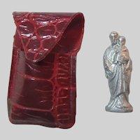 Pocket Icon St Joseph Figurine
