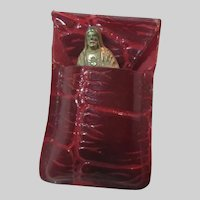 Jesus Sacred Heart Pocket Icon Figurine