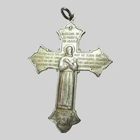 St Anthony & Francis Cross Medal