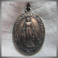 Virgin Mary Miraculous  Medal Seton Hill