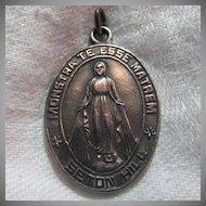 Virgin Mary Miraculous  Medal Seton Hill