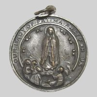 Virgin Mary Our Lady Fatima St Jude Medal