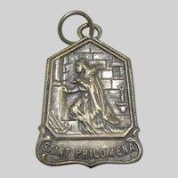 Saint Philomena Old Medal