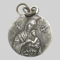 Virgin Mary Our Lady Perpetual Help St Gerard Majella Medal