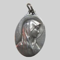 Virgin Mary Our Lady of Lourdes Fine Medal
