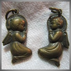 Praying Child Angels From Fatima Medal