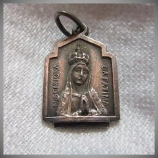 Our Lady Fatima Medal Virgin Mary